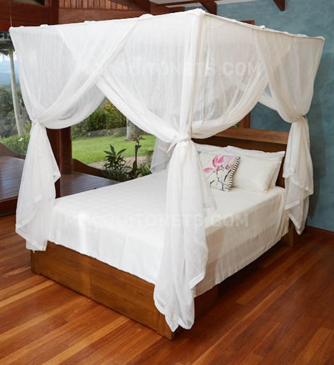 cotton mosquito net queen box