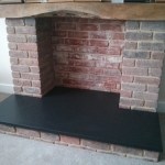 Black Slate Fireplace Hearth Natural Stone One Piece Hearth Pad Hearth Slab Shipped Nationwide Made In The Usa Any Size Any Shape