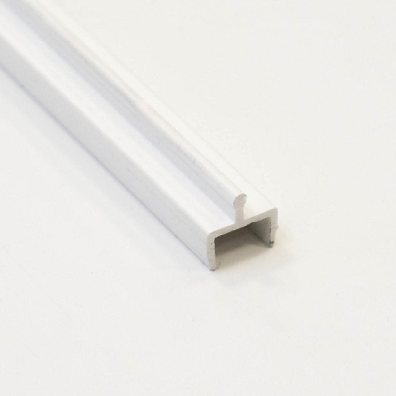 replacement white vinyl screen door track 1 2 wide x 5 8 high