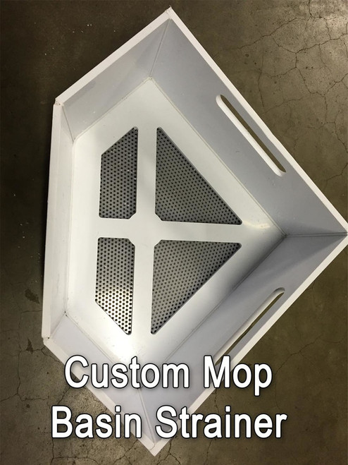 mop sinks and mop basin strainers for