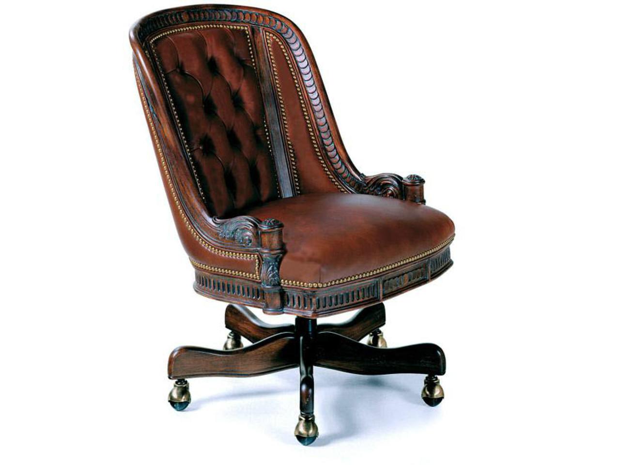 hudson tufted executive chair