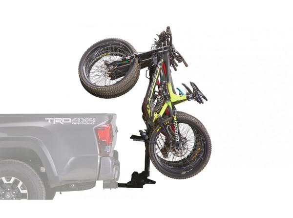 yakima hang over 6 vertical hitch bike rack