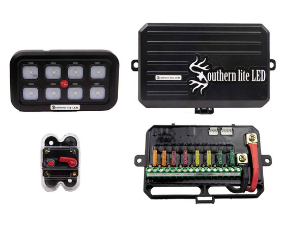 ultimate marine led wiring and switch system 940 watts max
