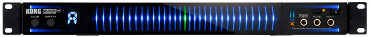 https www absolutemusic co uk korg pitchblack pro rackmount or floormount guitar tuner html