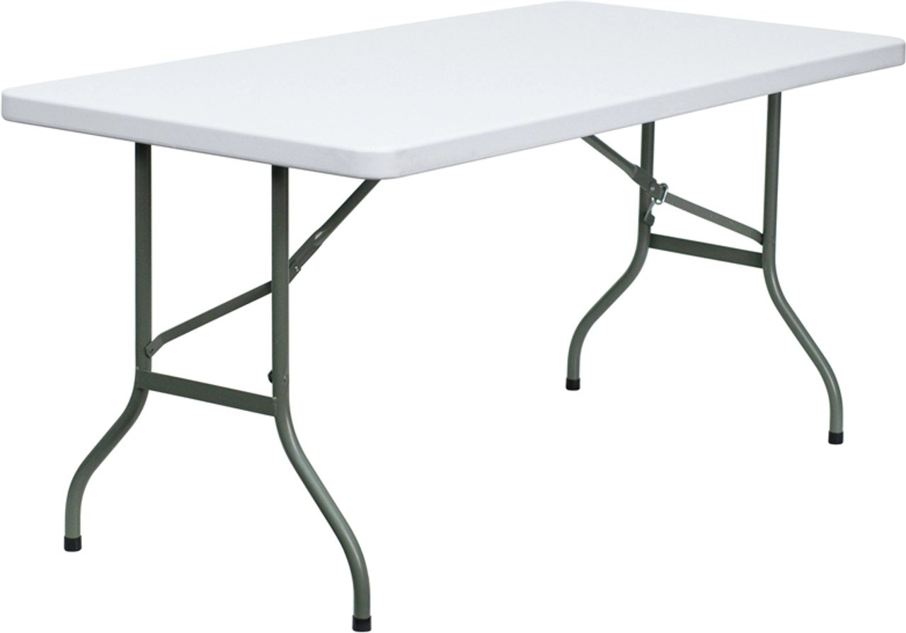 Small Rectangular Plastic Folding Table Ft Rec