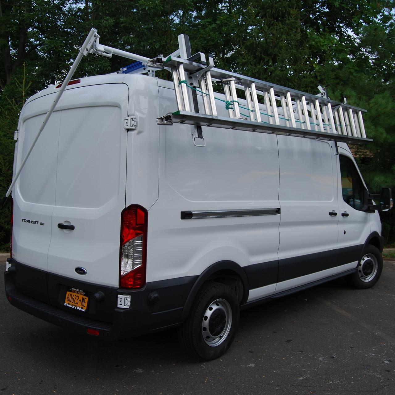 prime design transit ergorack drop down ladder rack