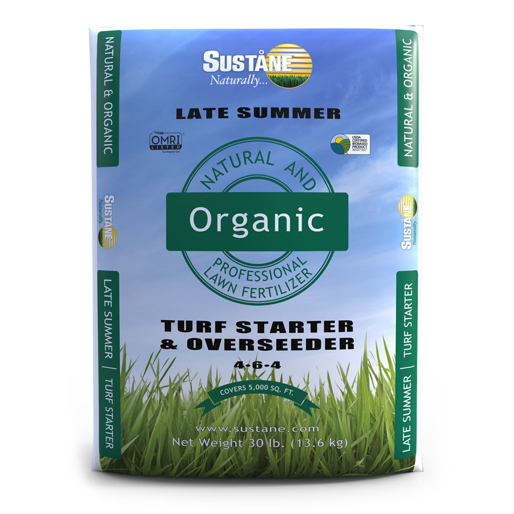 Organic Turf Starter Fertilizer 4 6 4 30 Lbs