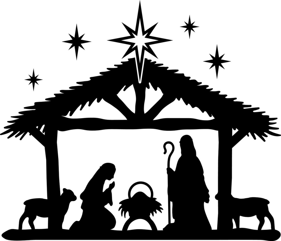 Download Get Nativity Svg Free Images Free SVG files | Silhouette ...
