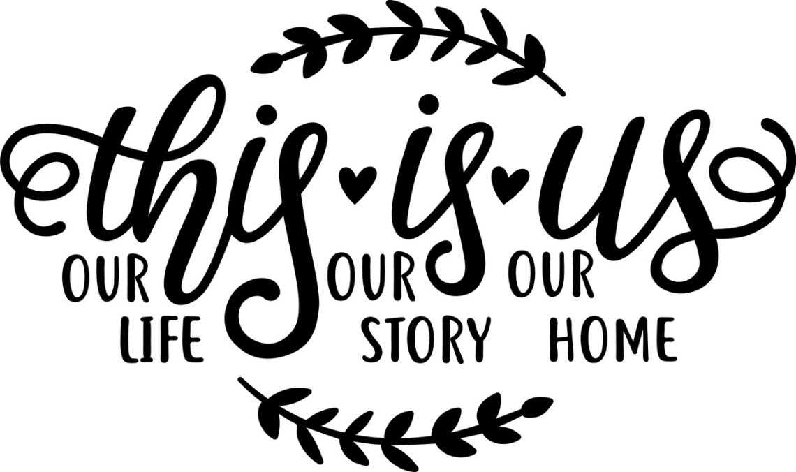 Free This Is Us SVG Cut File| Craftables