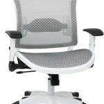 White All Mesh Office Chair Mesh Office Chairs