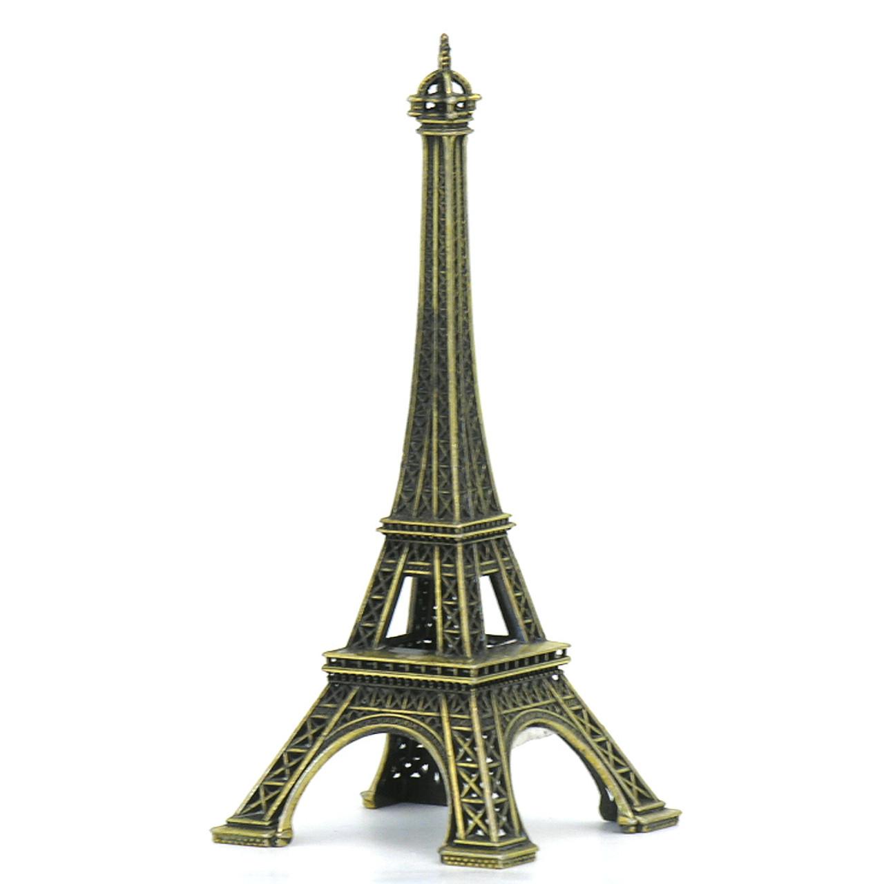 2 75 inch eiffel tower statues