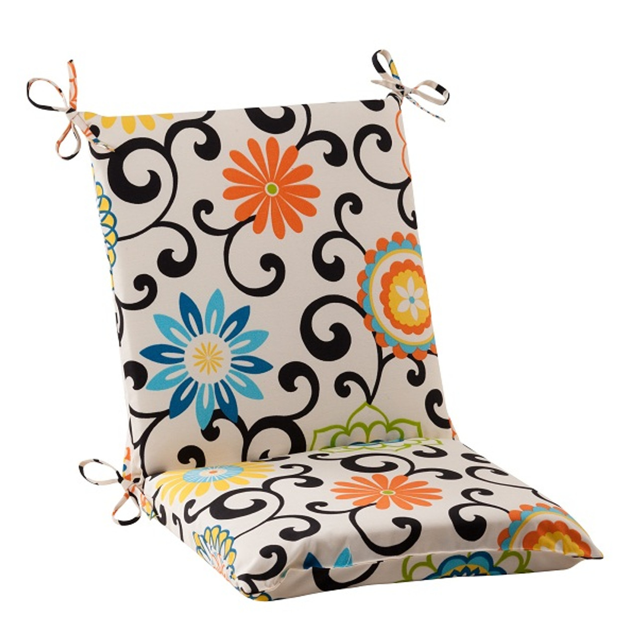 36 5 waverly summer flower outdoor patio furniture square chair cushion
