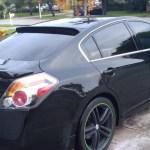 Nissan Altima Coupe 2008 2012 Custom Window No Light Spoiler 707 Motoring Auto Parts Accessories