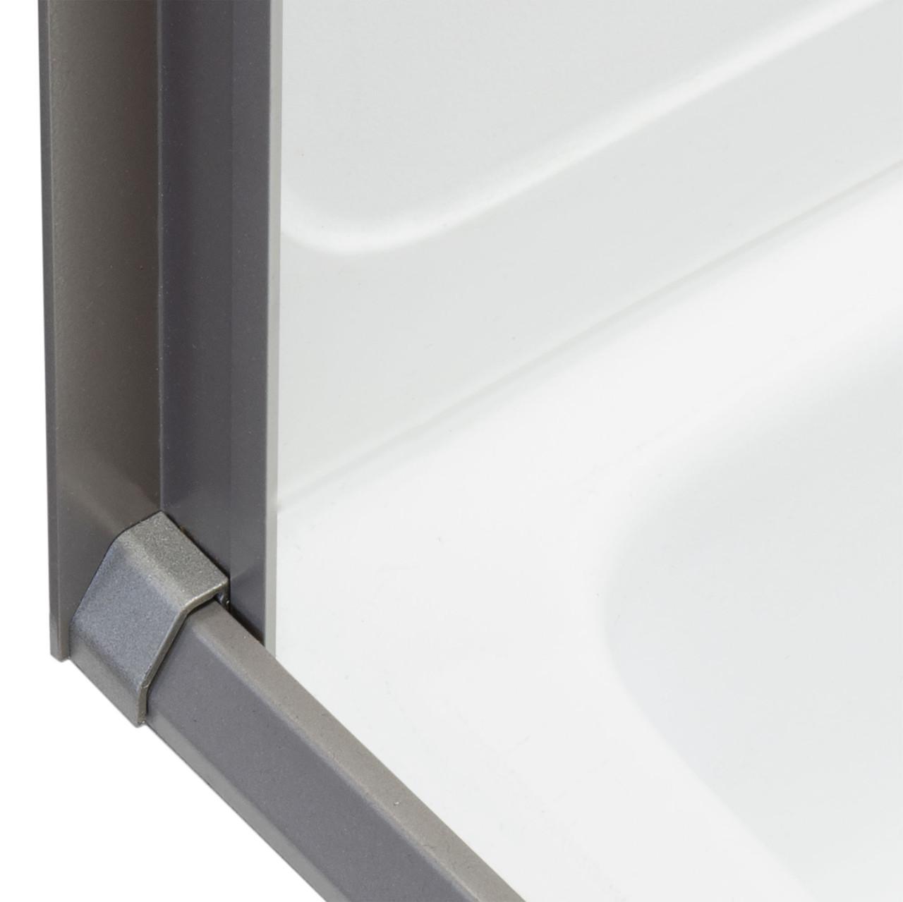 rv retractable rolling shower door