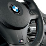 Car Truck Steering Wheels Horns 32307845940 Genuine Bmw M3 E82 E90 E92 Cover M Steering Wheel Black Multif Auto Parts And Vehicles