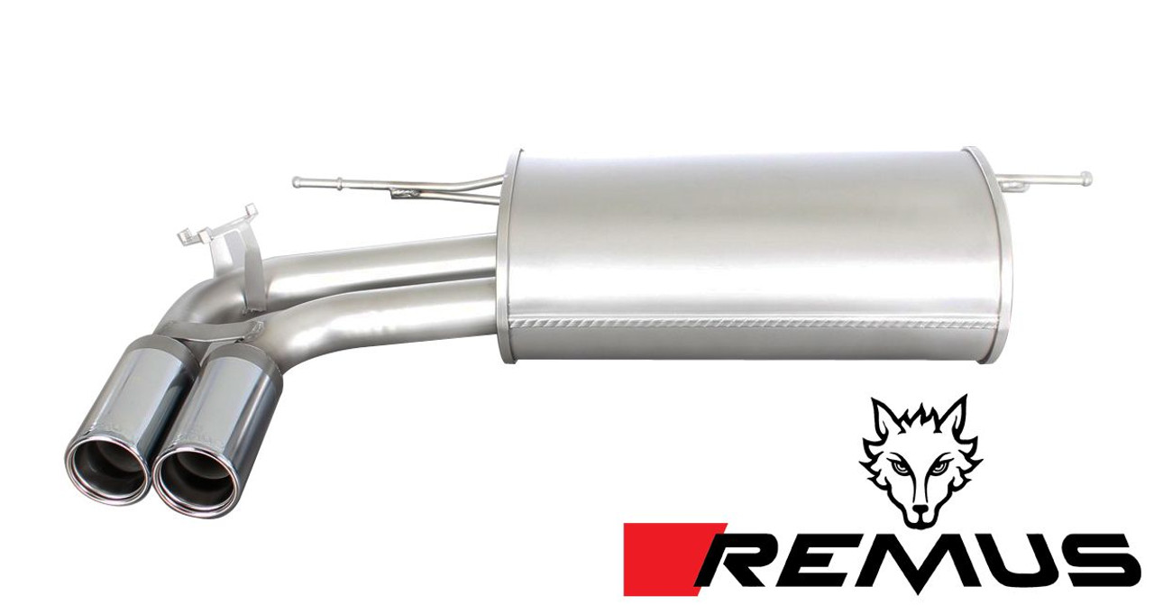 remus sport exhaust single exit for 2012 bmw 328i 428i f30 f32 086112 0504