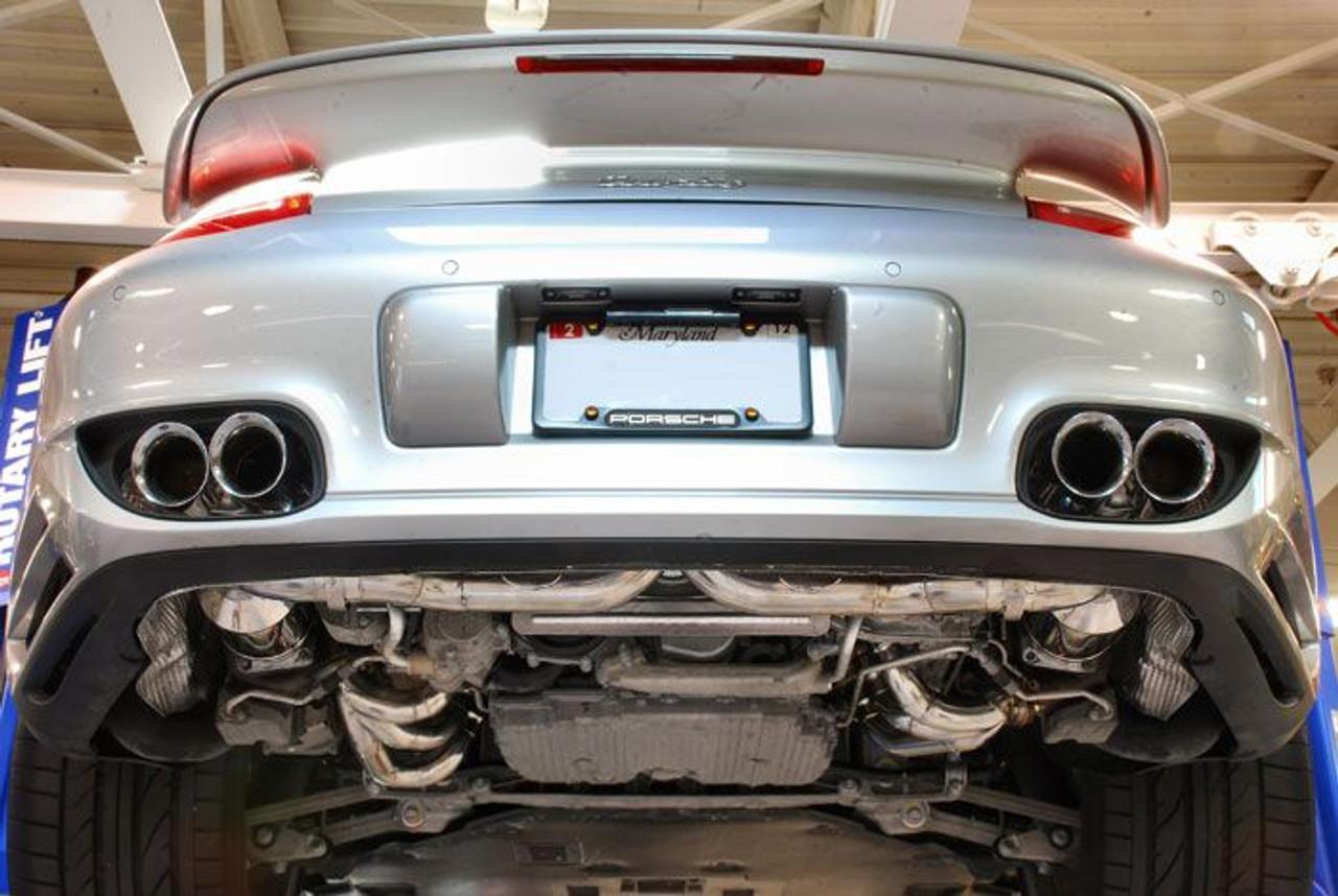 fabspeed supersport x pipe exhaust for 2006 09 porsche 911 turbo 997