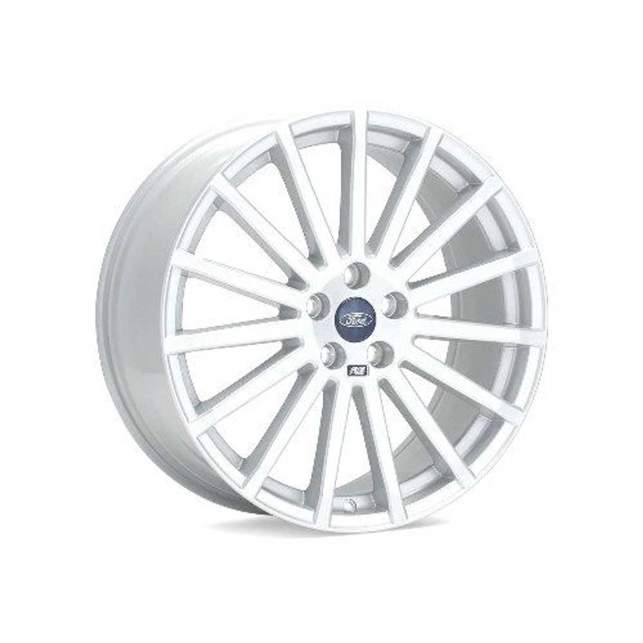 ford racing focus rs wheels for 2013 16 focus st st250 m 1007 r1985w white