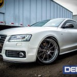Carbon Fiber Front Lip For 2008 2012 Audi A5 S5 B8 By Deval