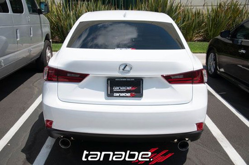 tanabe medalion touring exhaust for 2014 lexus is250 is350 t70177a