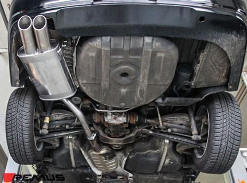 remus sport exhaust for 1999 2006 bmw 320i 325i 330i e46 089000 0500