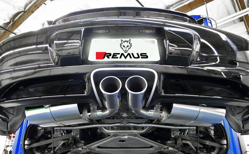 no longer available remus sport exhaust for 2006 2008 porsche cayman s boxster s 987 686106 1500