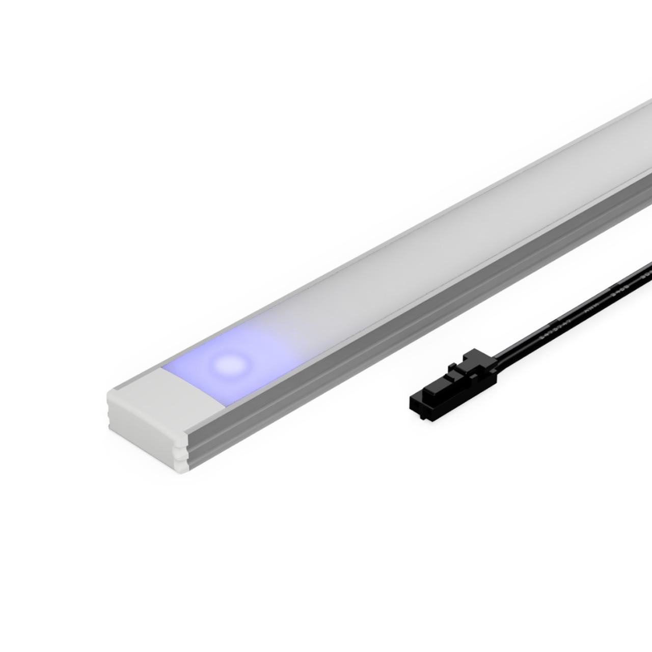 easy to use under cabinet led touch sensor light bar 500mm 12v warm white 3000k
