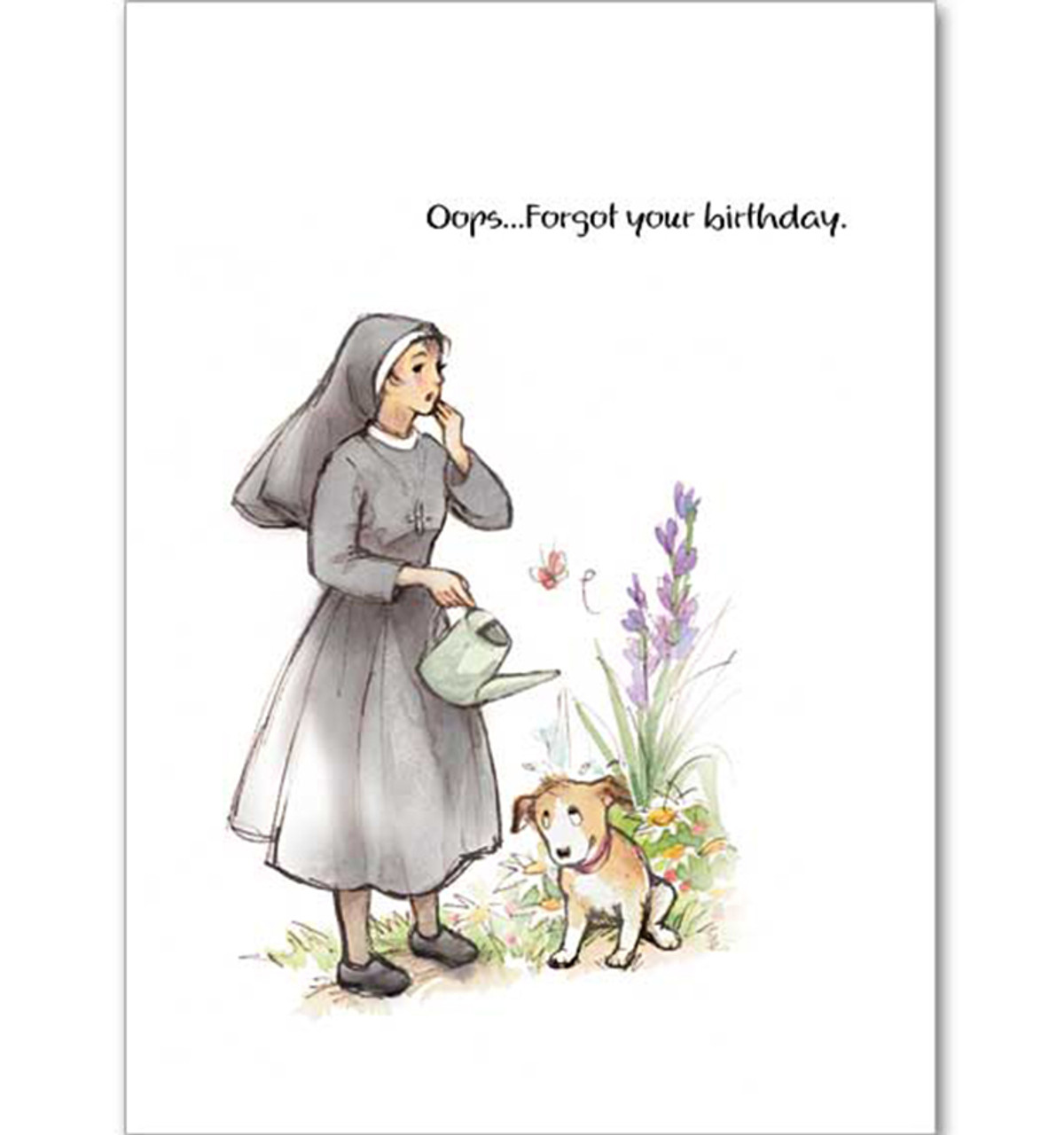 Oops Forgot Your Birthday Card Monastery Gift Shop