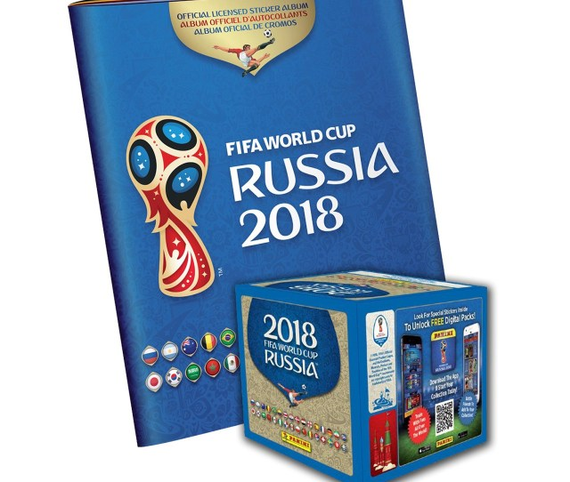 Panini 2018 Fifa World Cup Russia Album And Stickers 50 Packets X 5 Stickers