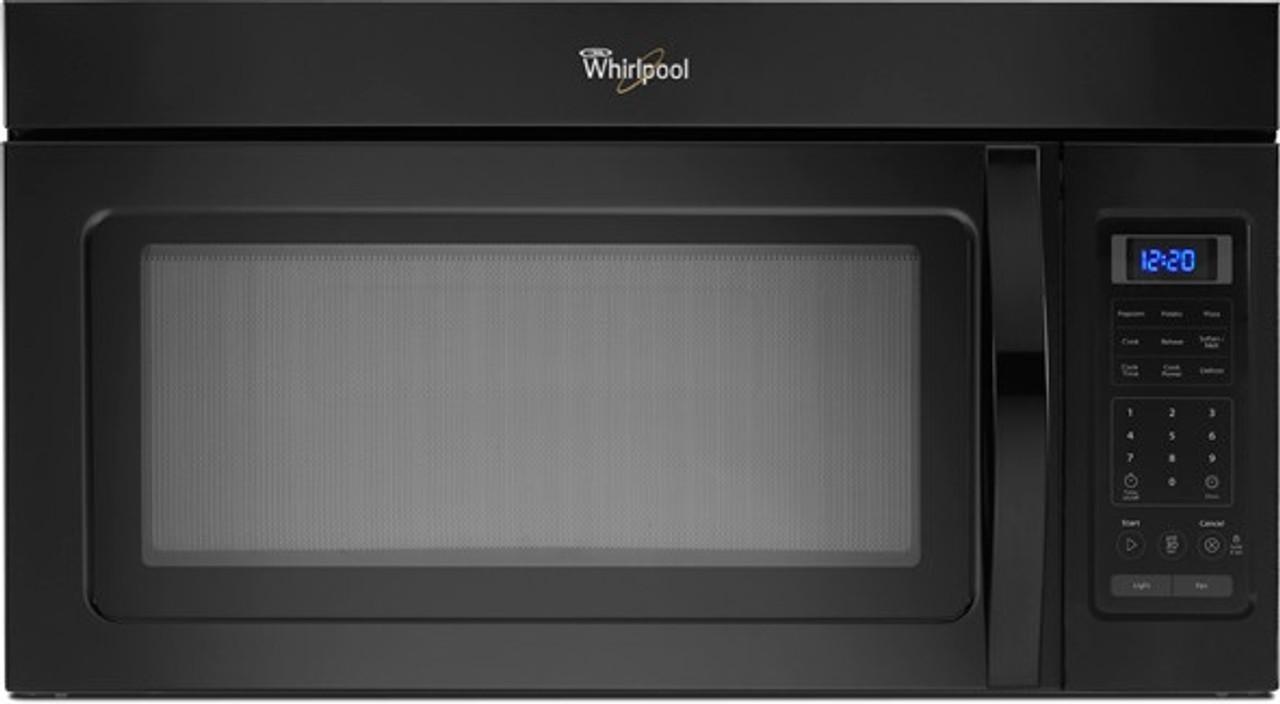 microwave whirlpool wmh31017ab 1 6 cu over