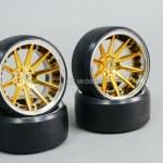 Fly Wheels 1 10 Large 2 2 Drift Wheel Set Stagger Chrome Black