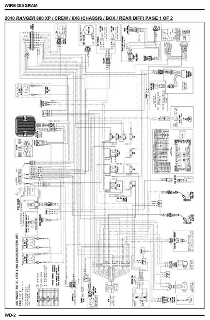 2010 polaris ranger wiring diagram  center wiring diagram