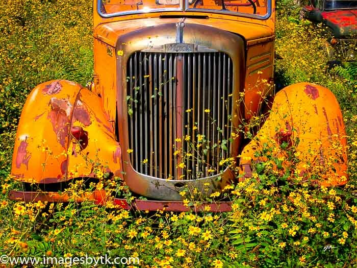 1947 Mack Fire Truck - Gold King Mine & Ghost Town - Jerome AZ