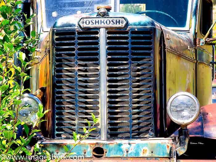 1960's Oshkosh Truck -  Gold King Mine & Ghost Town Jerome, Az