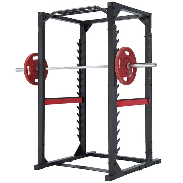 steelflex club line power rack w pull up bar