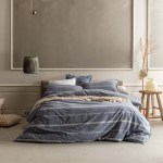 Balmoral Navy Quilt Cover Set By Kas Double Bed My Linen