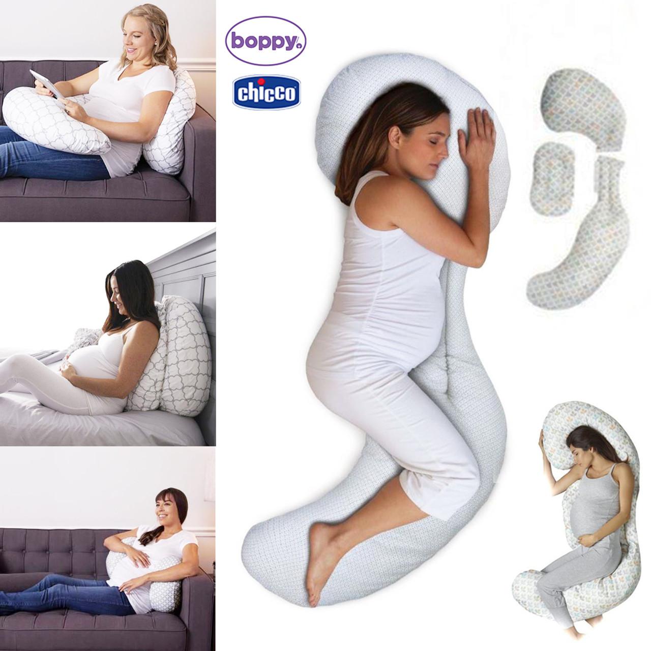 boppy total body pillow glacier