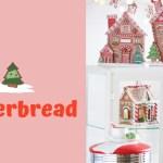 Gingerbread Christmas Tree Gingerbread House Decorations Raz 2019 Tree Themes