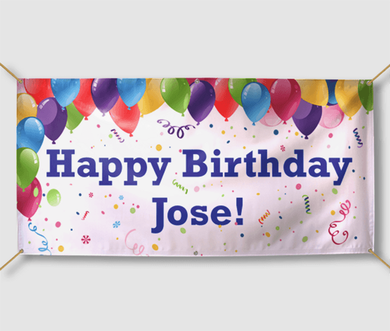 Birthday Banners Personalized Birthday Signs
