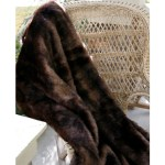 Bear Faux Throw Brown Bear Fur Blanket Carstens