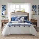 Indigo Skye Oversized King Size Comforter 9 Piece Set Caron S Beach House