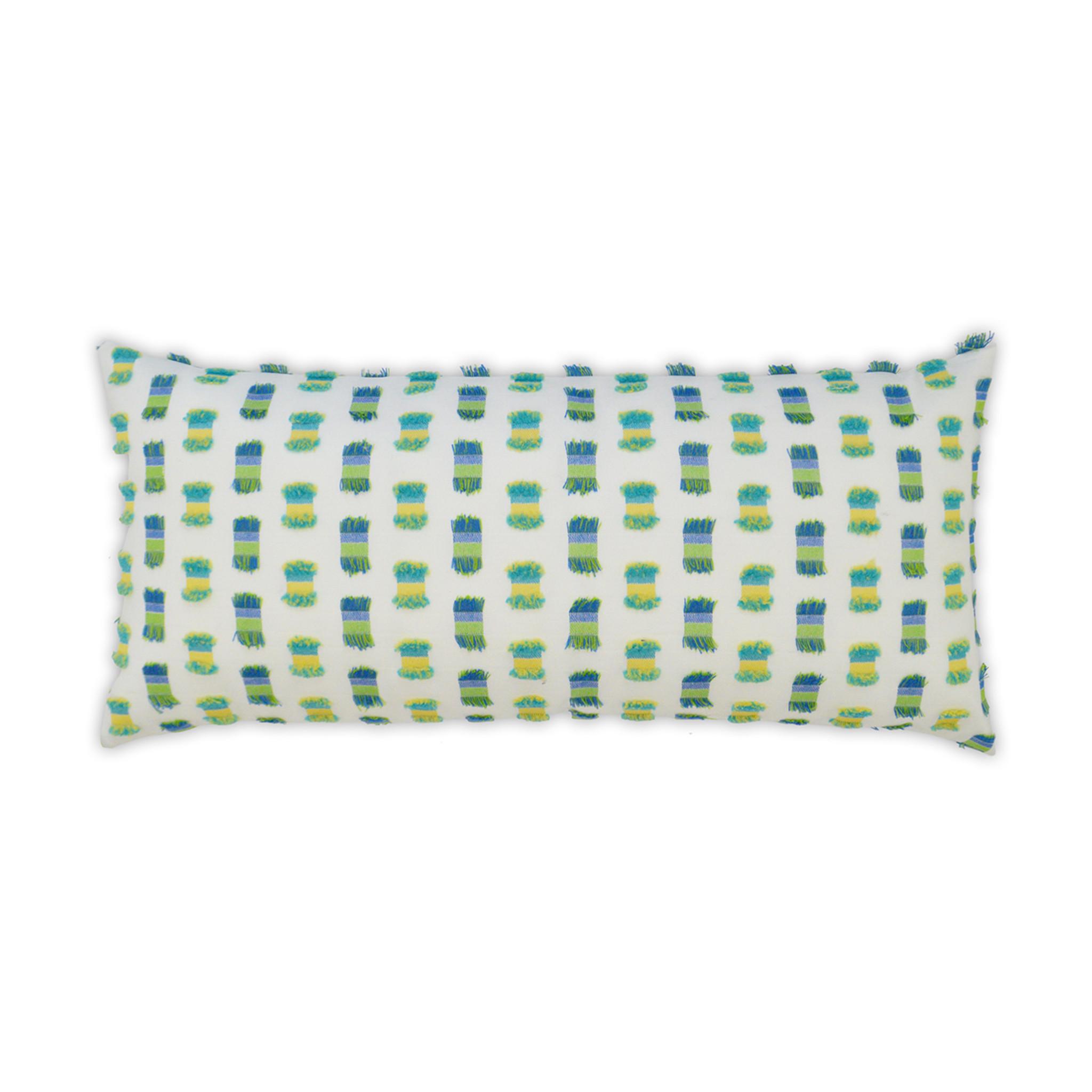fifi green indoor outdoor 12 x 24 luxury pillow