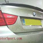 Painted E90 Saloon M Performance Style Rear Boot Spoiler