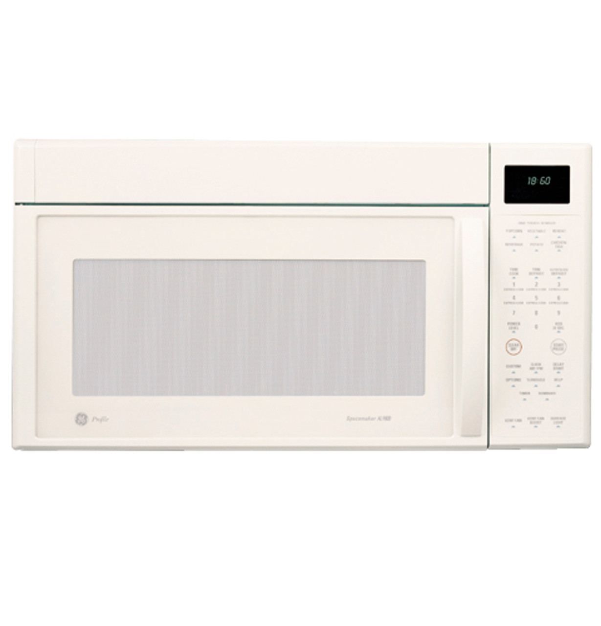ge profile spacemaker xl1800 microwave oven with outside venting 1100 watts jvm1860cf