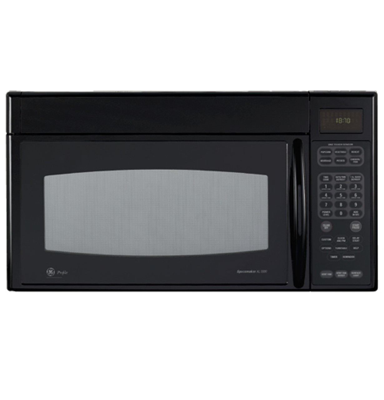 ge profile spacemaker xl1800 microwave oven jvm1870bf