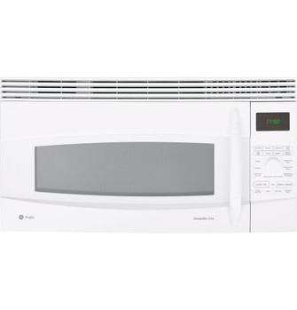 ge profile 1 7 cu ft convection over the range microwave oven jvm1790wk