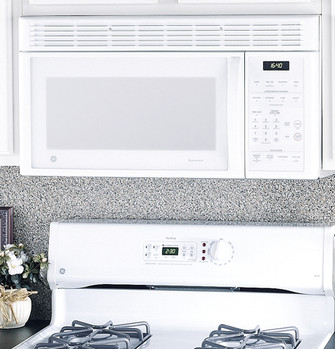 ge spacemaker over the range microwave oven jvm1640wj