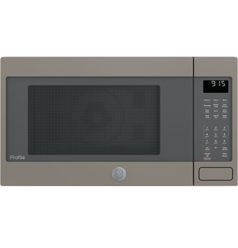 ge profile 1 5 cu ft countertop convection microwave oven peb9159ejes