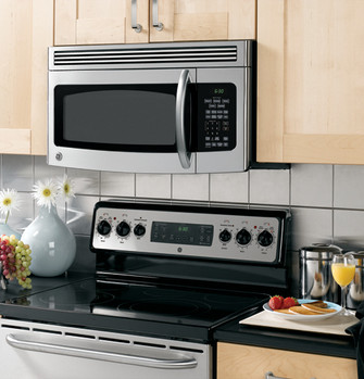 ge spacemaker over the range microwave oven jvm1750smss