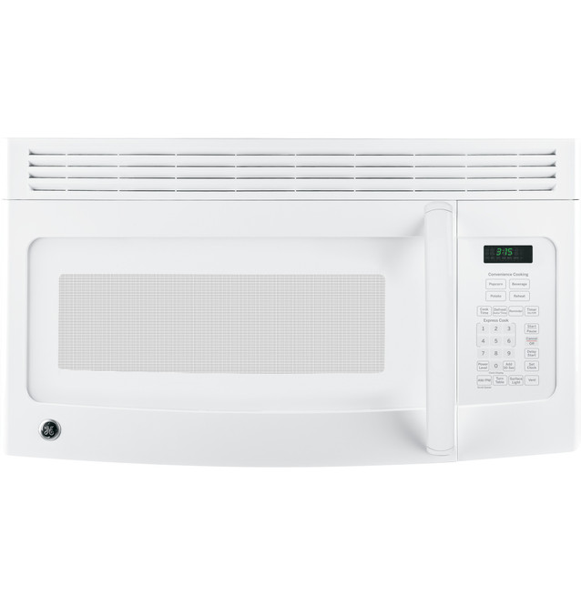 ge 1 5 cu ft over the range microwave oven with recirculating venting jnm3151dfww